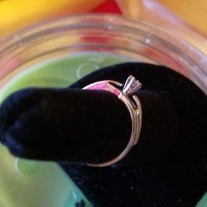 Jewelry - 10k white gold diamond soliter ring